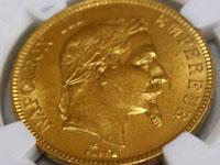 ナポレオン3世100フラン金貨