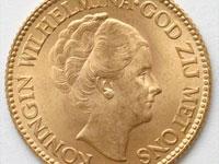ウィルヘルミナ10グルデン金貨
