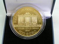 ウィーン金貨ハーモニーは金相場以上のプレミア価格で買取ります!