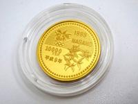 長野五輪冬季大会記念1万円金貨
