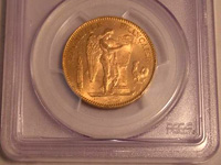 エンジェル50フラン金貨(フランスコイン)