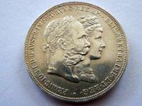 銀婚記念 2フローリン銀貨