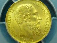 レオポルド20フラン金貨