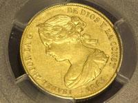イサベル2世 100レアル金貨
